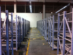 Regular storage racking-D