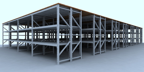 Mezzanine floor racking-C