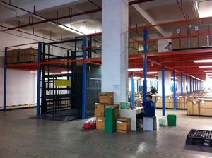 Mezzanine floor racking-B